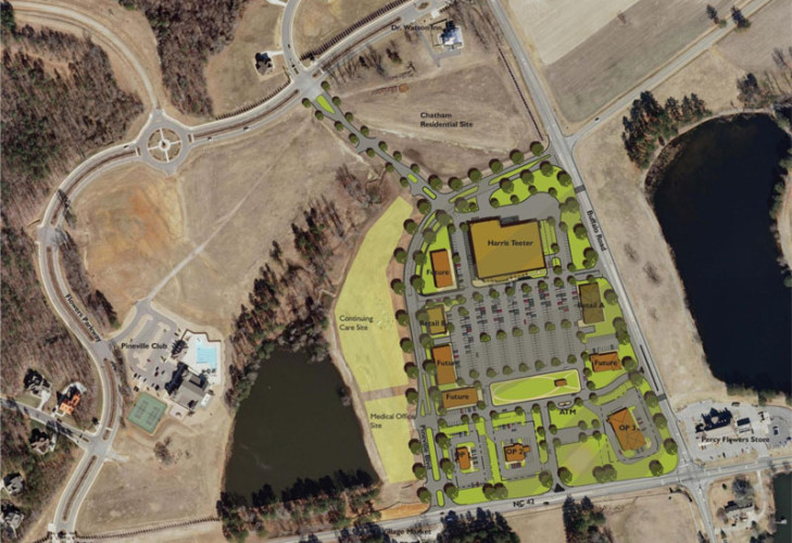 Flowers Crossroads Site Plan